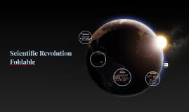 Scientific Revolution Foldable