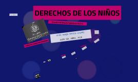 DERECHOS DE LOS NIÑOS
