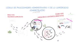 Copy of Código de Procedimiento Administrativo y de lo Contencioso Administrativo