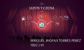 JAPON Y CHINA