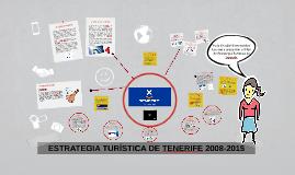 ESTRATEGIA TURÍSTICA DE TENERIFE