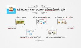 Copy of KẾ HOẠCH KINH DOANH BÚN NIÊU HẢI SẢN