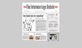 The Intermarriage Debate
