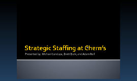 cherns staffing 1 answer to i have an assignment on strategic human resource staffing course my assignment is about recruiting in the firstattachment file name( recruiting ) you.