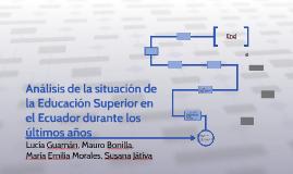 Lucía Guamán, Mauro Bonilla, Ma Emilia Morales