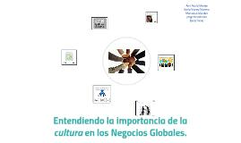 Entendiendo la importancia de la cultura los Negocios Global