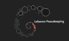 Lebanon Peacekeeping
