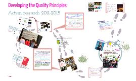Arts Council Quality Principles - journey so far