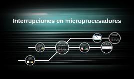 Interrupciones en micropocesadores