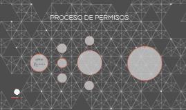 PROCESO DE PERMISOS