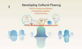 Cultural Fluency