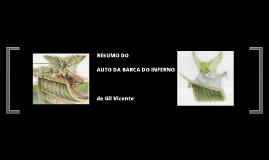 RESUMO DO AUTO DA BARCA DO INFERNO de Gil Vicente