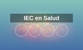 IEC en Salud