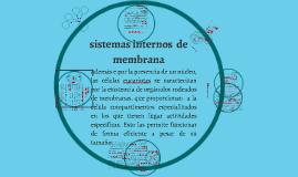 sistemas internos  de membrana
