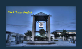Copy of Clock Tower Project