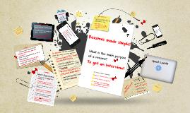 WRC Resumes made simple! - EDIT