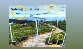 Copy of Solving Equations