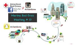 Marina Red Cross | Meeting #17