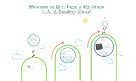 Welcome to Mrs. Bozo's 8th Grade ELA CLass