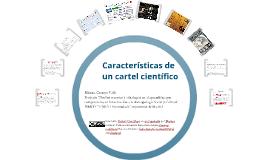 Copy of Características de un cartel científico