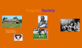 Iroquois Society