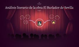 Análisis literario de la obra El Burlador de Sevilla
