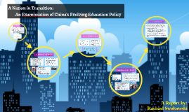 A Nation in Transition: An Examination of China's Evolving Education Policy