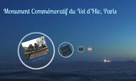 Copy of Monument Commémoratif du Vel d'Hiv, Paris