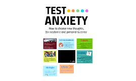 Test Anxiety - Workshop
