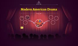 Modern American Drama