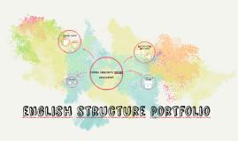 English Structure Portfolio