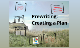 Prewriting: Creating a Plan
