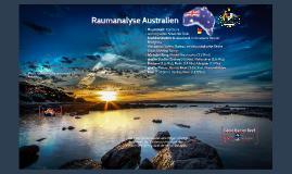 Raumanalyse Australien