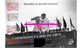 Mussolini: gli anni del consenso