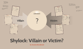 Shylock: Villain or Victim?