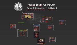 Escola Interamérica - Unidade II_ 7º Ano_2016