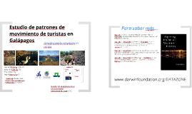 Estudio de patrones de movimiento de turistas en Galápagos