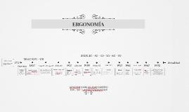 Ergonomía - Línea del tiempo