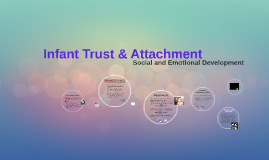 Infant Social & Emotional Development