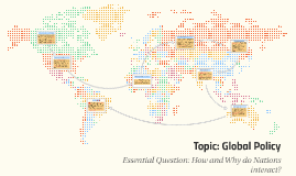 Topic: Global Policy