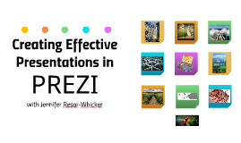 Creating Effective Presentations in Prezi