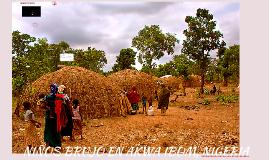 NIÑOS BRUJO EN AKWA IBOM, NIGERIA