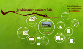 Modélisation ossature bois