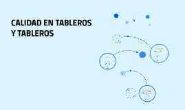 TABLEROS Y TABLERO