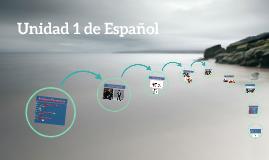 Unidad 1 de Español