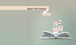 Thesis Final Defense