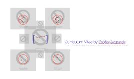 Curriculum Vitae by Zsófia Gasparek