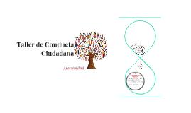 Taller de Conducta Ciudadana