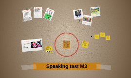 Speaking test M3
