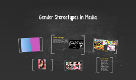 Gender Stereotypes In Media